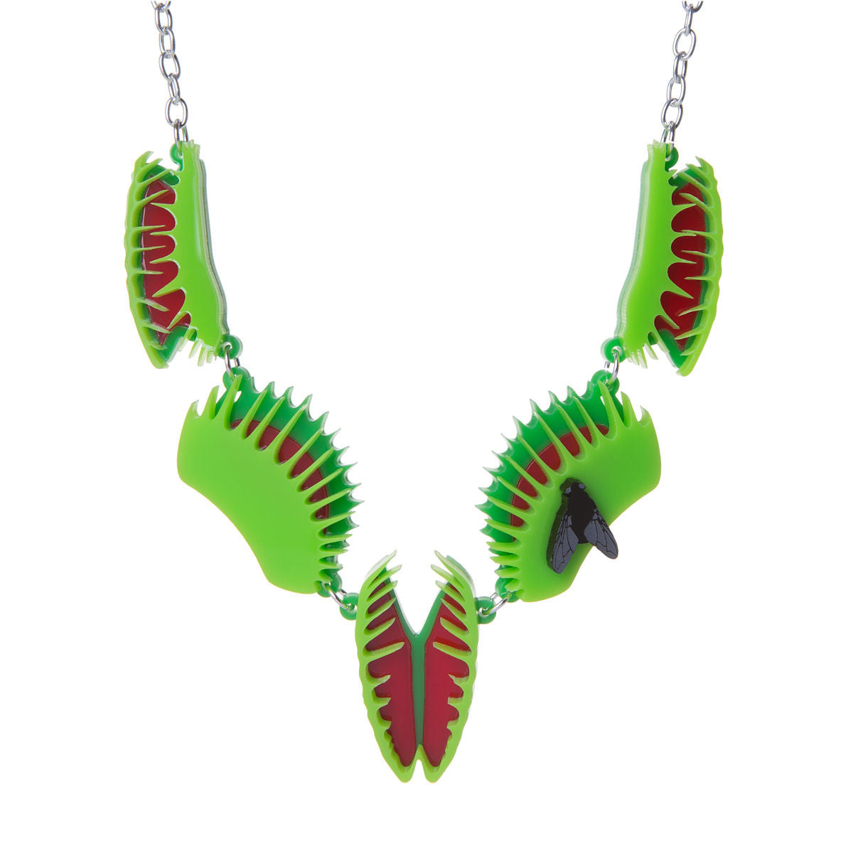Sugar & Vice Venus Flytrap Necklace