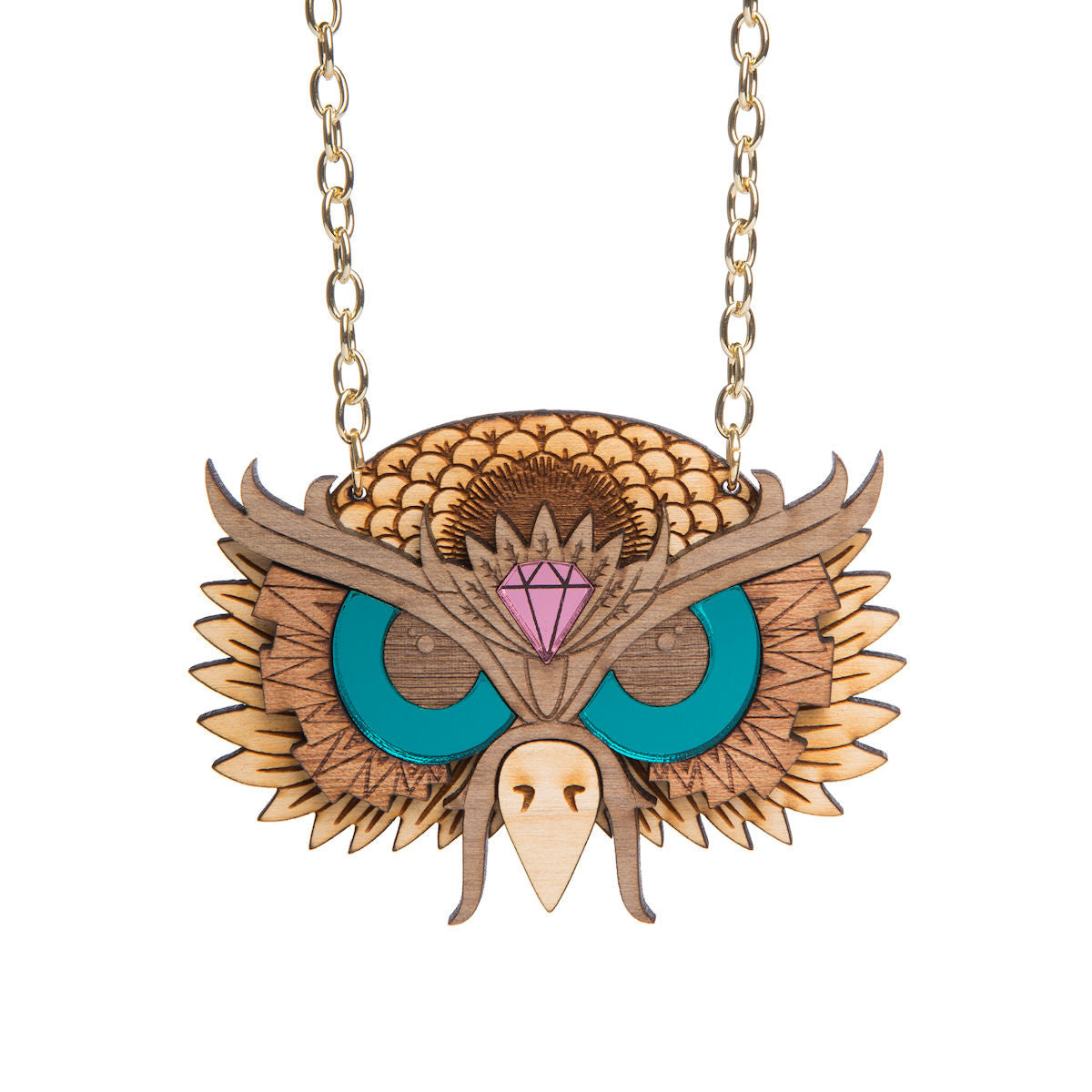 Sugar & Vice Owl Necklace
