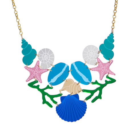 Shell Statement Necklace