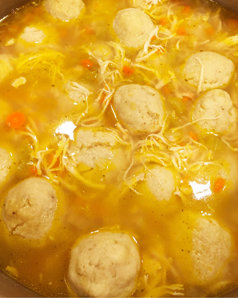 Ari's Matzo Ball Soup