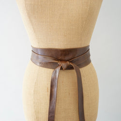Ranch Brown Obi Long Belt