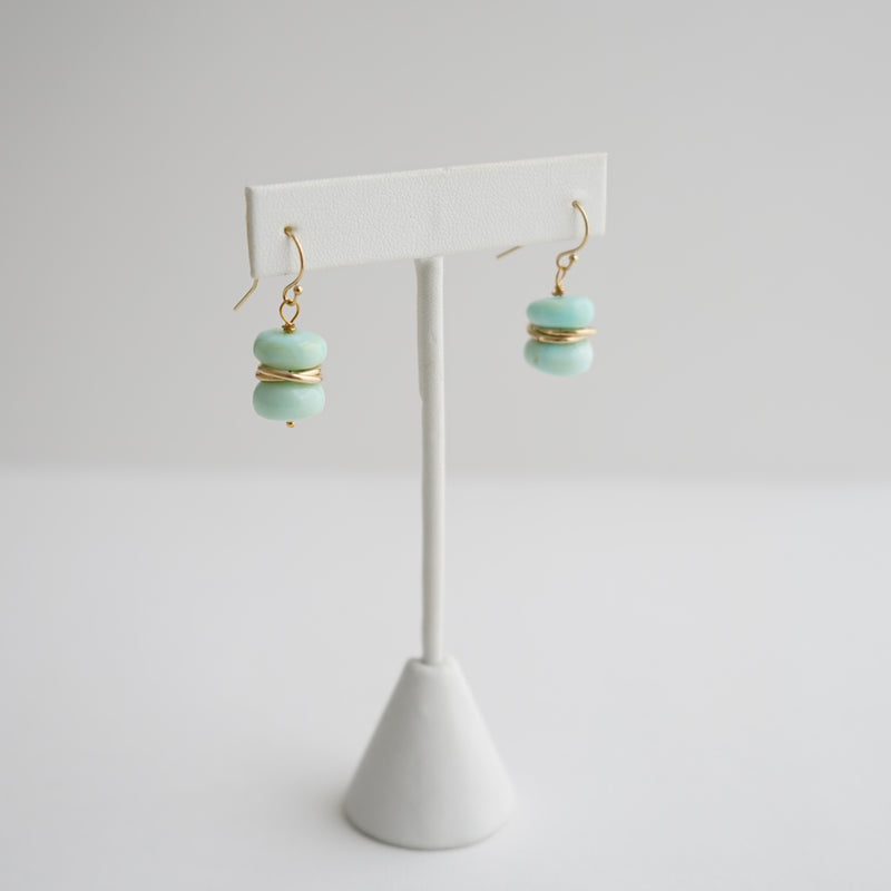 Laura Stark Peruvian Opal Earrings