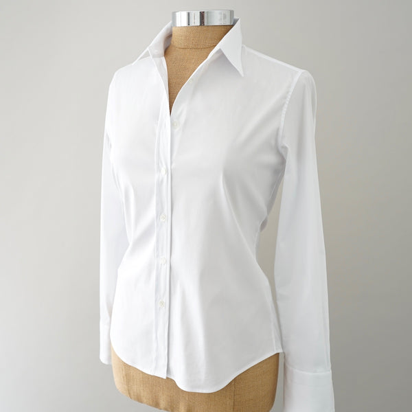 Shirtini Fitted White Shirt