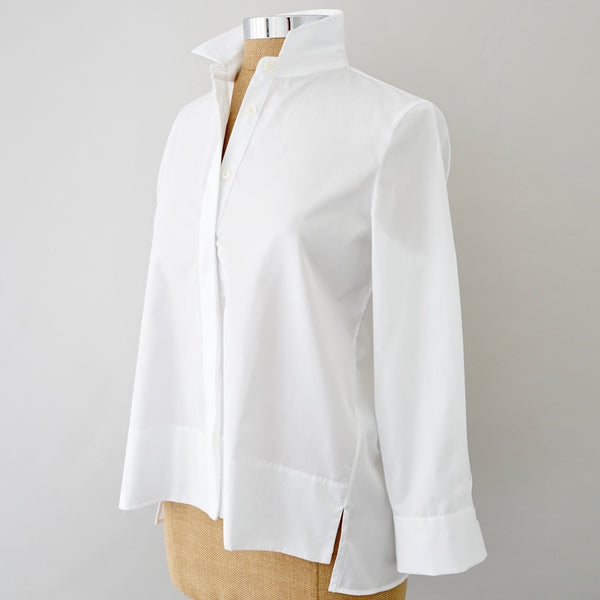 Shirtini Almost A-Line Crisp Cotton Shirt