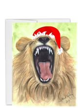 Load image into Gallery viewer, African animal Christmas Lion