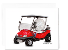 Load image into Gallery viewer, Golfers Note Card Collection - Driving the Golf Cart