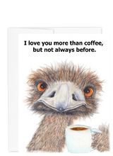 Load image into Gallery viewer, Ostrich collection Love You