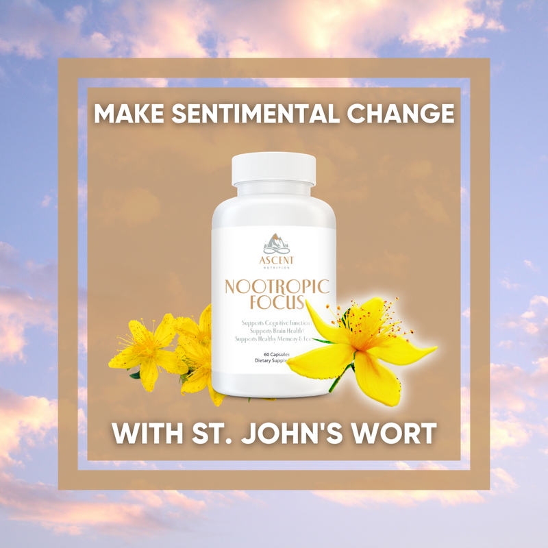 Make Sentimental Change with St. John's Wort