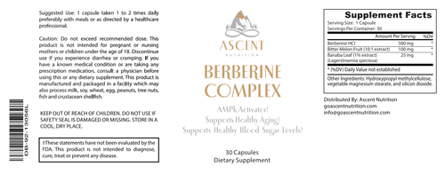 General Health - Berberine Complex