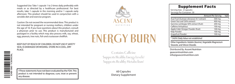 Weight Loss - Energy Burn