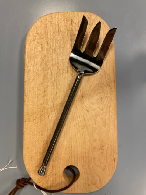 Serving Fork w/Teardrop Handle