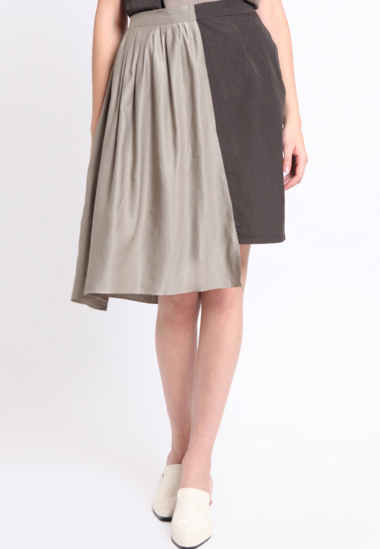 Amm. Half-Broom Skirt - Dark Brown