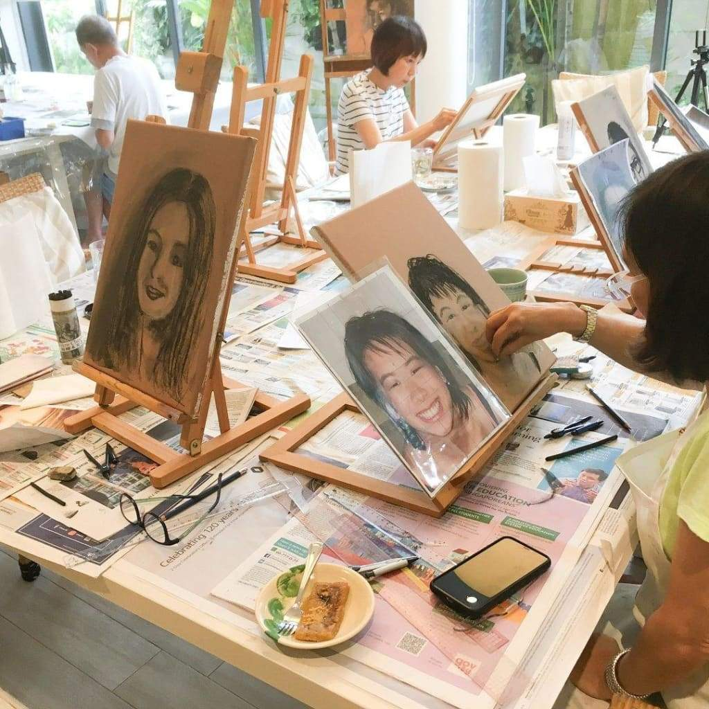 2-Day Intro to Portrait Painting Workshop