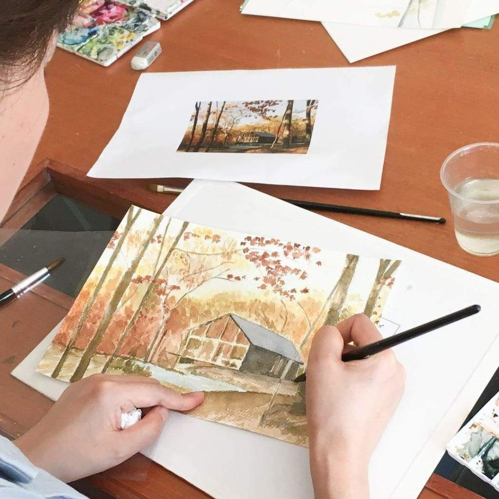 Autumn Landscape Watercolour Workshop