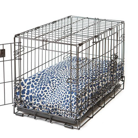 Rectangular Dog Bed Leopard Print