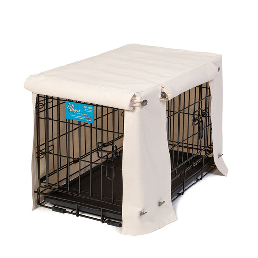 Washable Dog Crate Cover - Natural