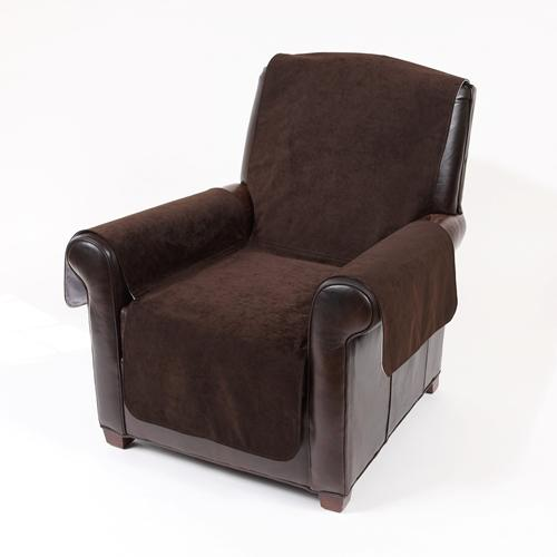 Chair Dark Chocolate Suede