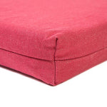 Simply Red Twill Memory Foam Crate Pads with Waterproof Liner