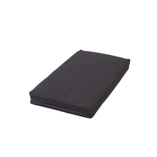 Charcoal Denim Memory Foam Crate Pads with Waterproof Liner