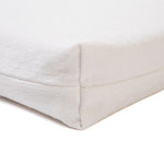 Optic White Memory Foam Crate Pads with Waterproof Liner