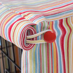 Washable Dog Crate Cover - Candy Stripe