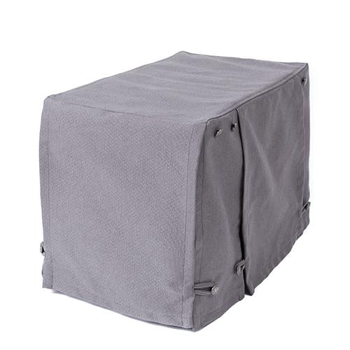 Washable Dog Crate Cover for ACE and iCrates Pewter