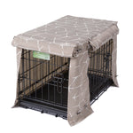 Washable Dog Crate Cover - Jayden Mushroom