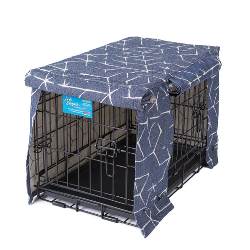 Washable Dog Crate Cover for ACE and iCrates Jayden Ink