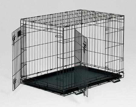 MidWest Life Stages® Double Door 42 depth Crate