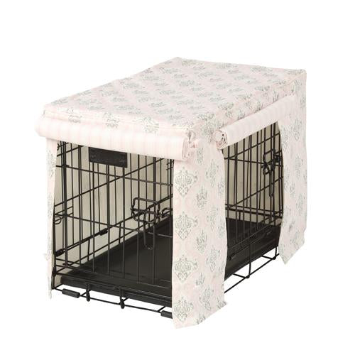 Madison Bella Hayes Stripe Dog Crate Cover