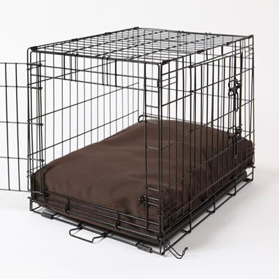 Crate Dog Bed - Dark Chocolate