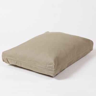 Rectangular Dog Bed Set - Cape Cod Khaki