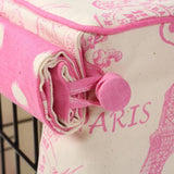 Parisian Pink Dog Crate Cover