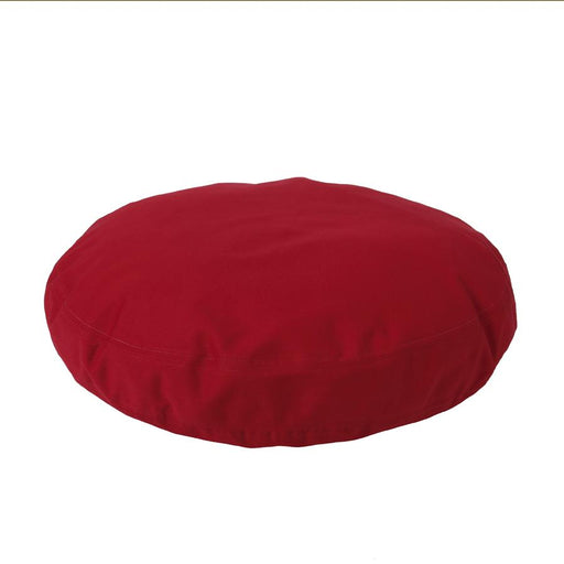 Round Dog Bed Cover - Simply Red