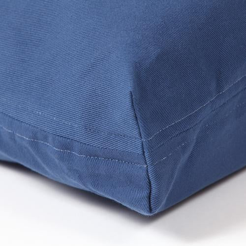 Washable Rectangular Dog Bed Cover - Sailors Blue, Final Sale, No Returns, No Exchanges