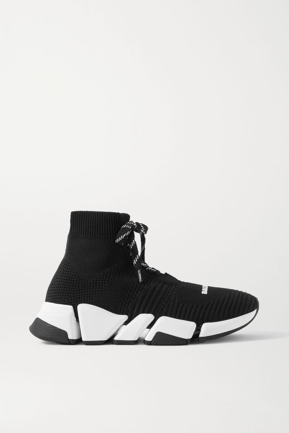 Speed 2.0 stretch-knit high-top sneakers