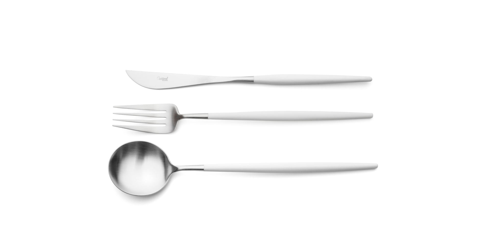 GOA Cutlery Set - White