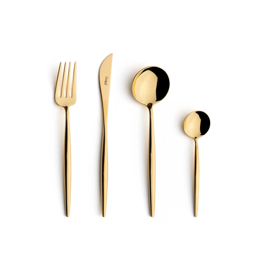 Cutlery Set - Moon Gold