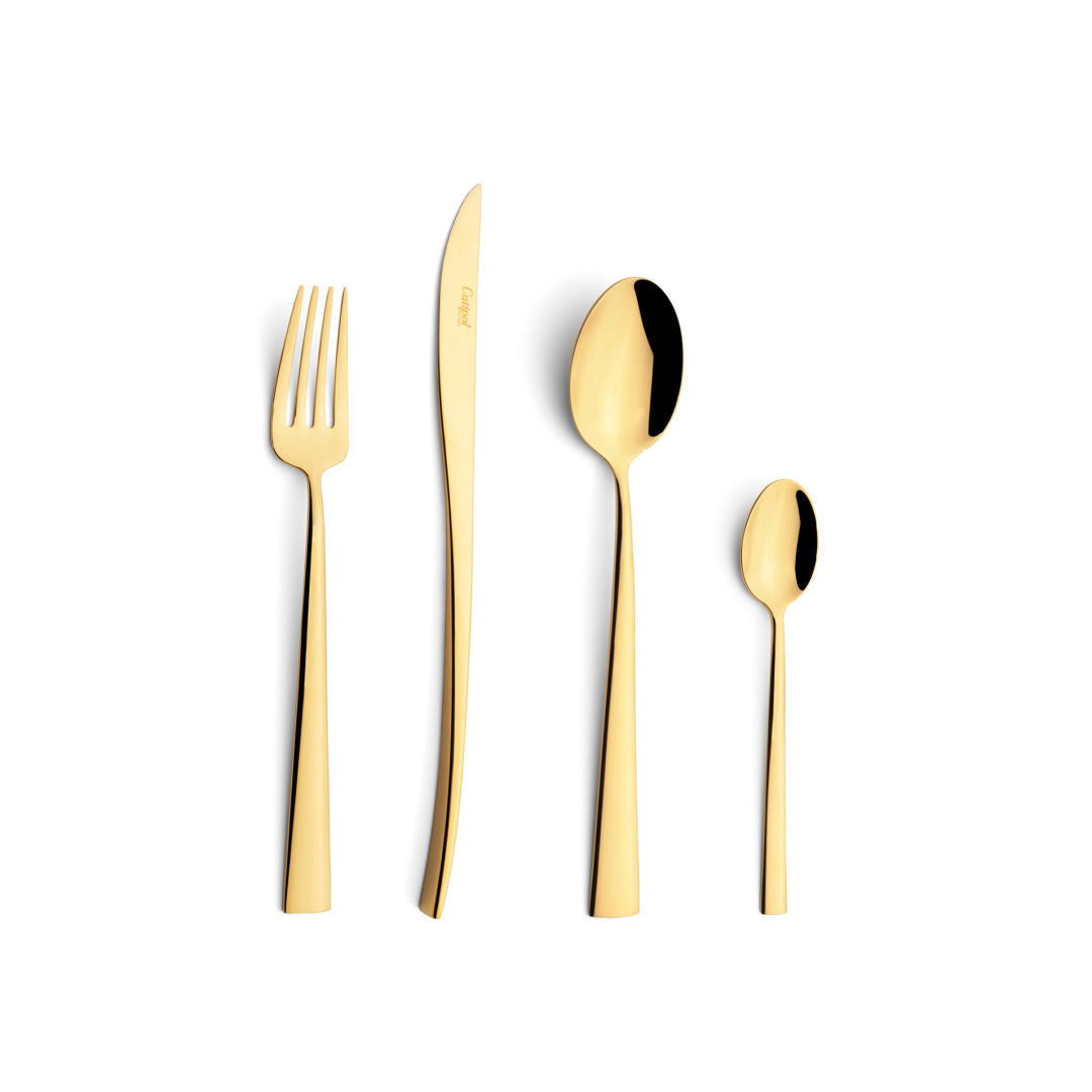 Cutlery Set - Duna Gold