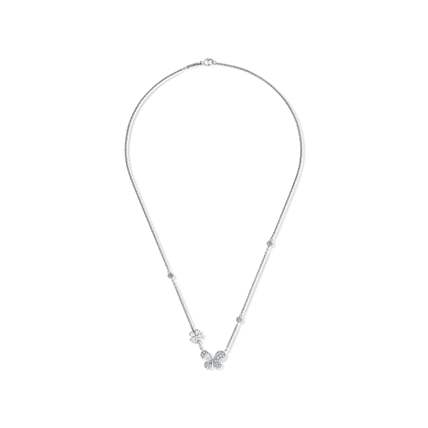 Pixie White Gold Necklace