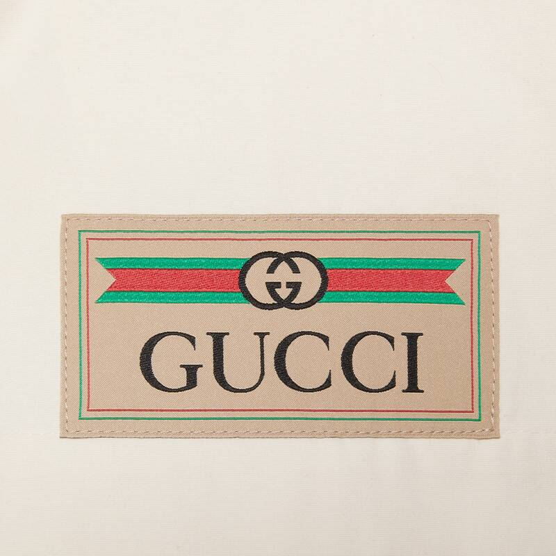 Gucci Web Details Light Cotton Dress