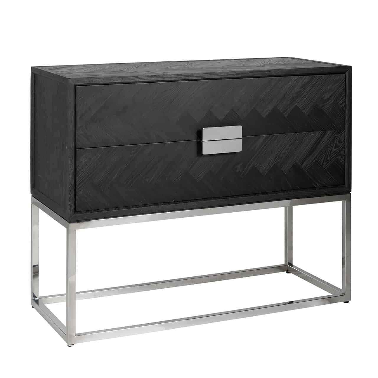 Dresser Blackbone Silver 2 Drawers