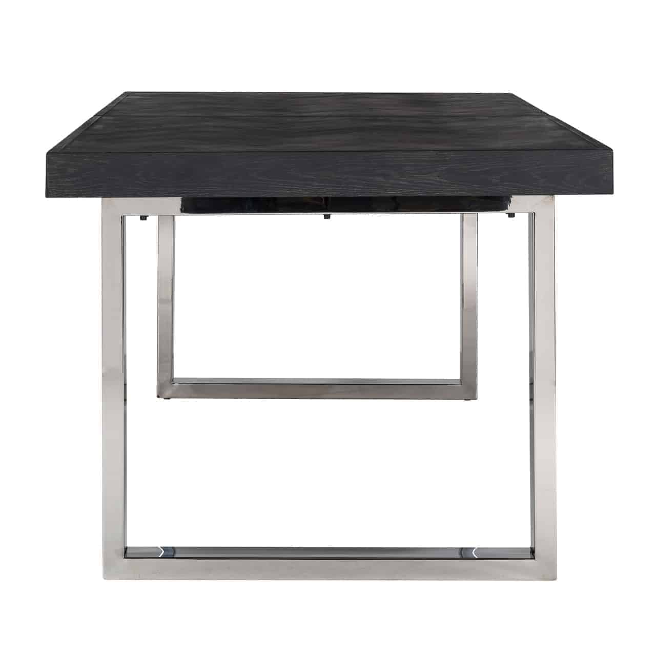 Extension Table Blackbone Silver 195(265)