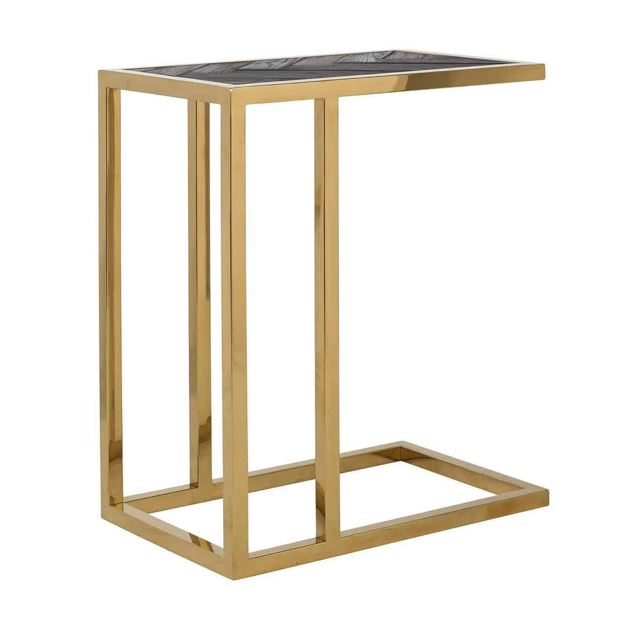 Sofa Table Blackbone Gold