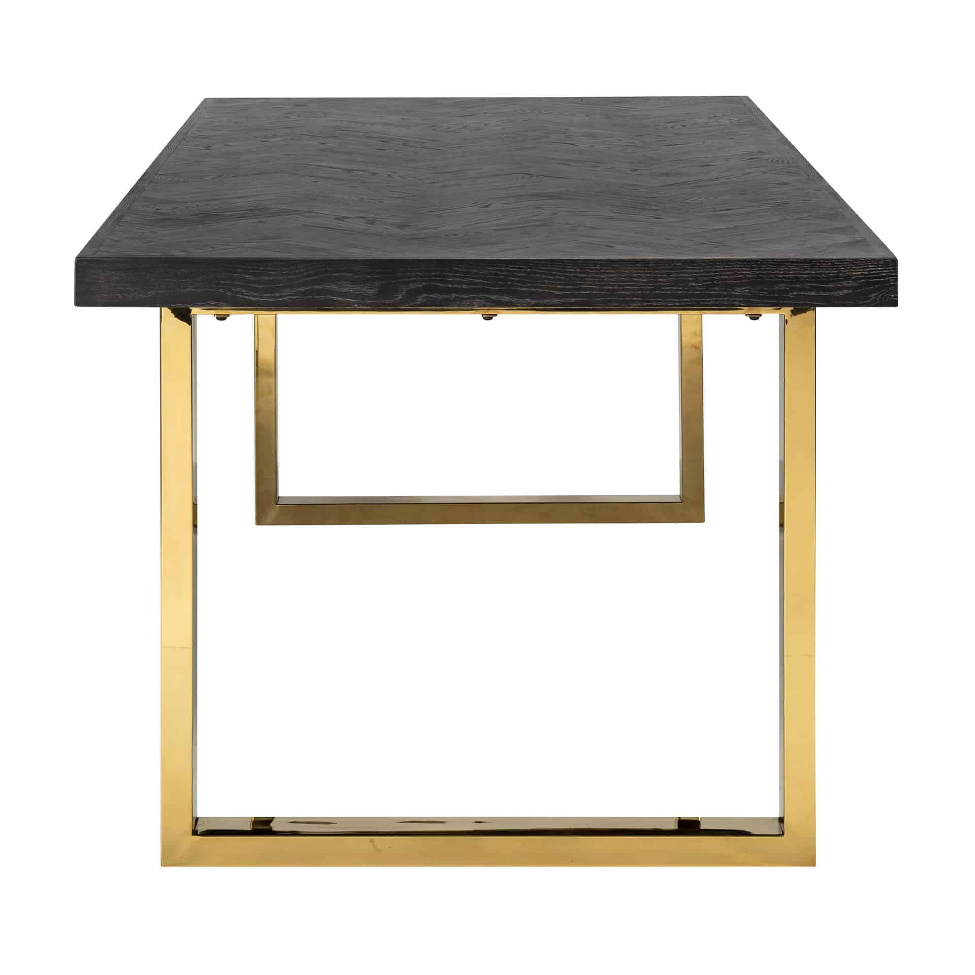 Dining Table Blackbone Gold 220