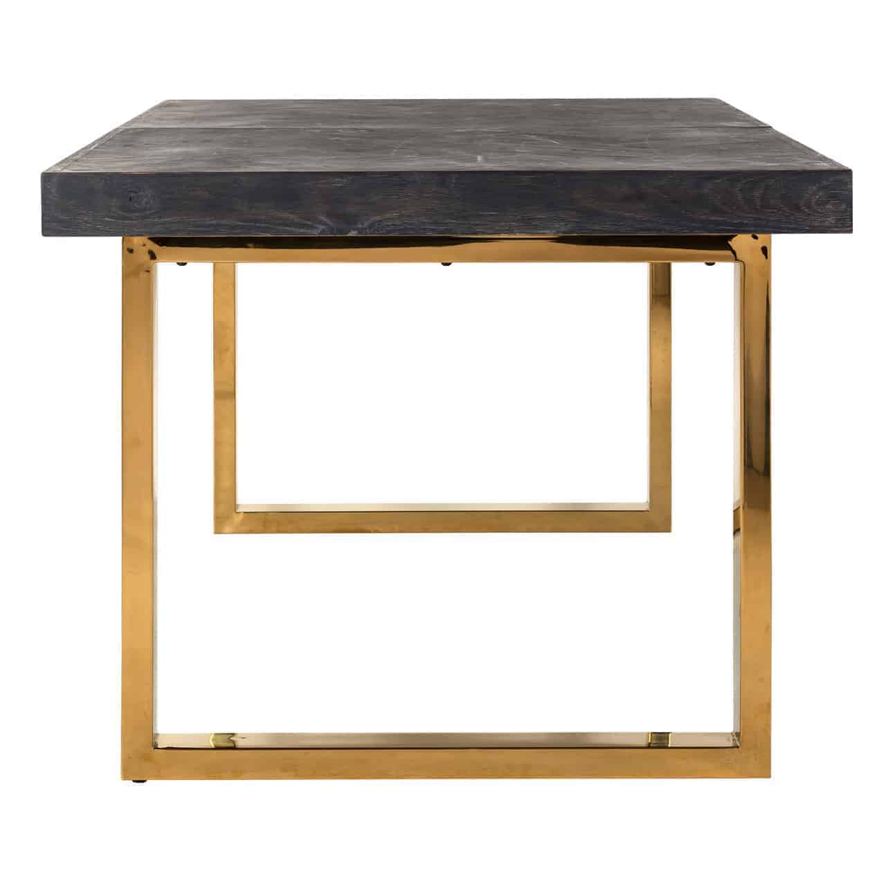 Extension Table Blackbone Gold 195(265)
