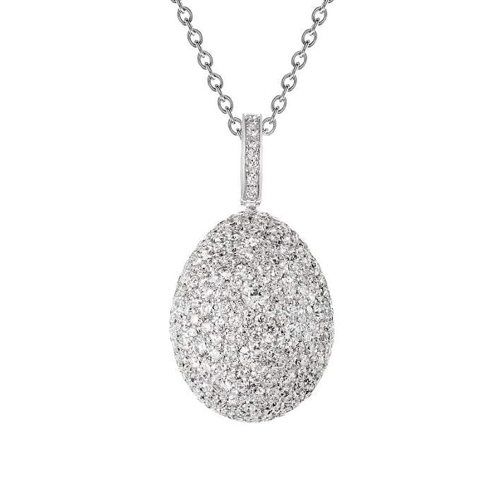 Fabergé - Emotion Diamond Egg Pendant