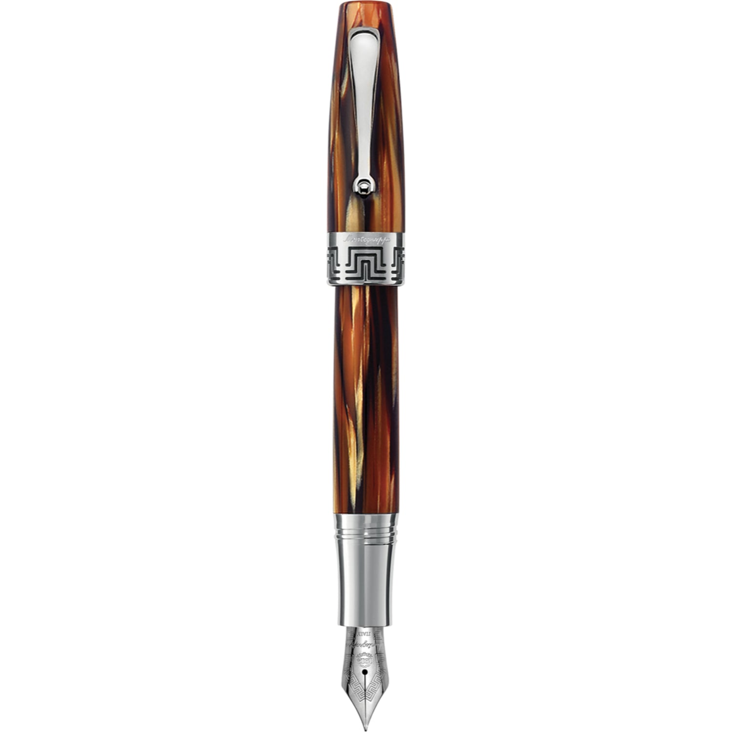 Extra 1930 Fountain Pen, Turtle Brown, Medium
