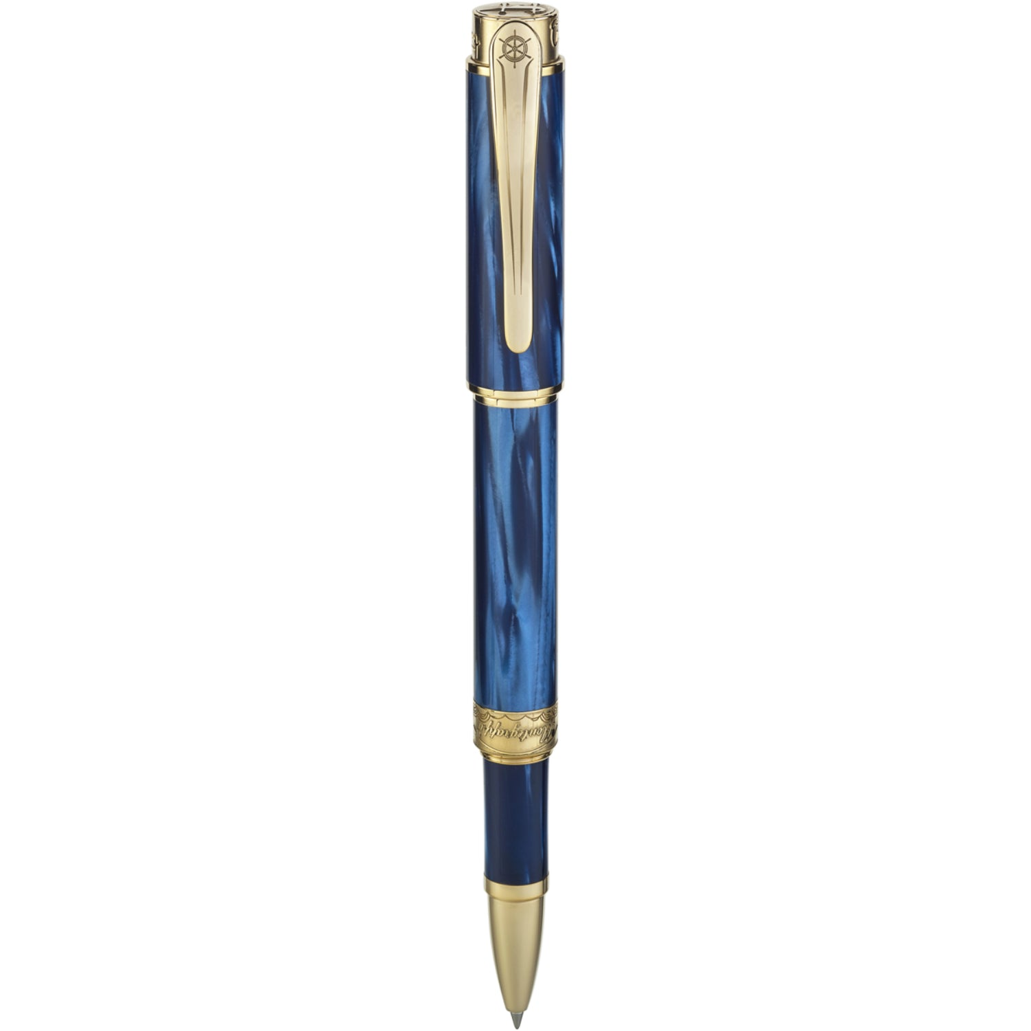 Hemingway : The Fisherman Rollerball Pen, Gold