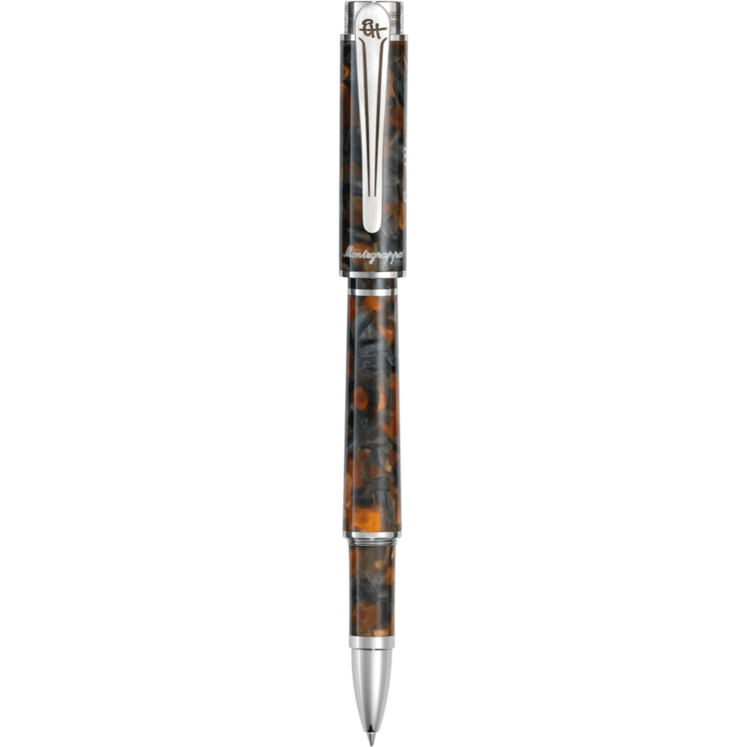 Hemingway Novel Rollerball Pen, Amber Grey